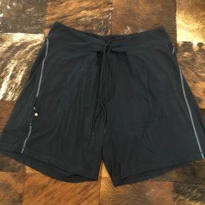 Lululemon Lined Black Shorts